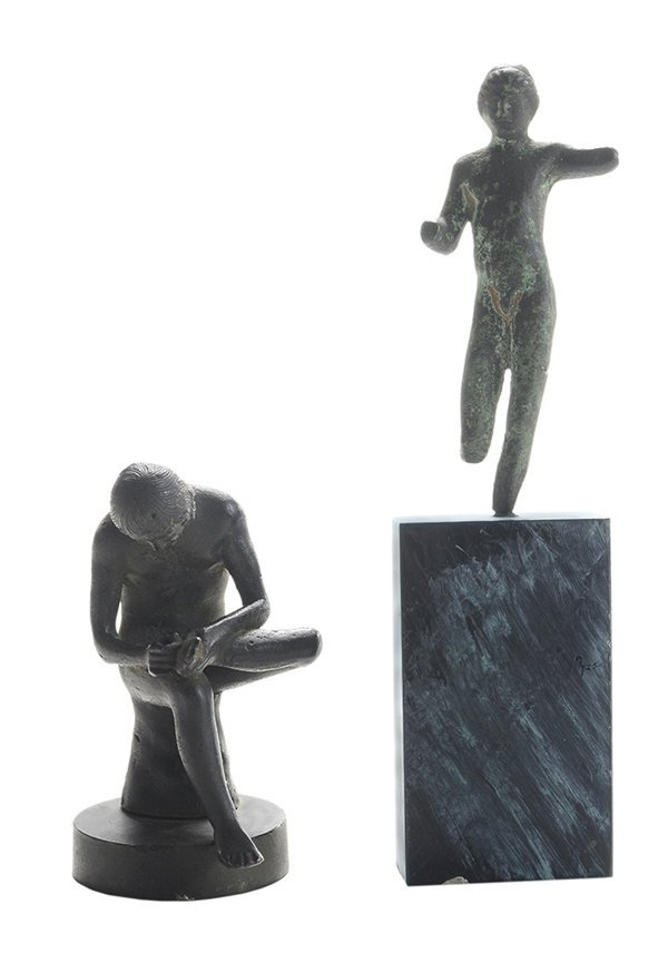 Two Greco-Roman Style Bronzes