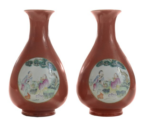 Pair Coral-Ground [Famille Rose]