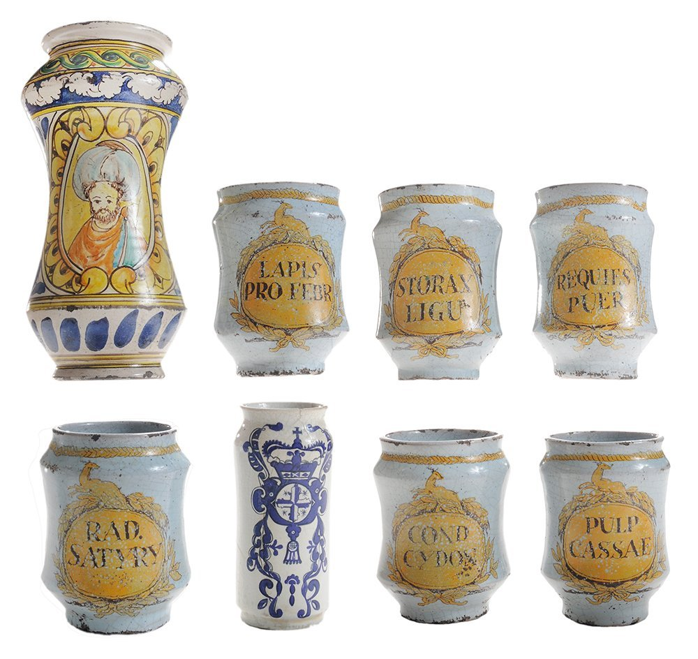 Collection of Six Matching Delft
