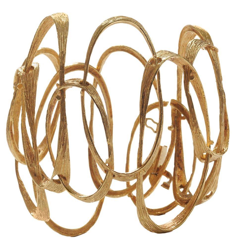 Cartier 18 Kt. Gold Bracelet