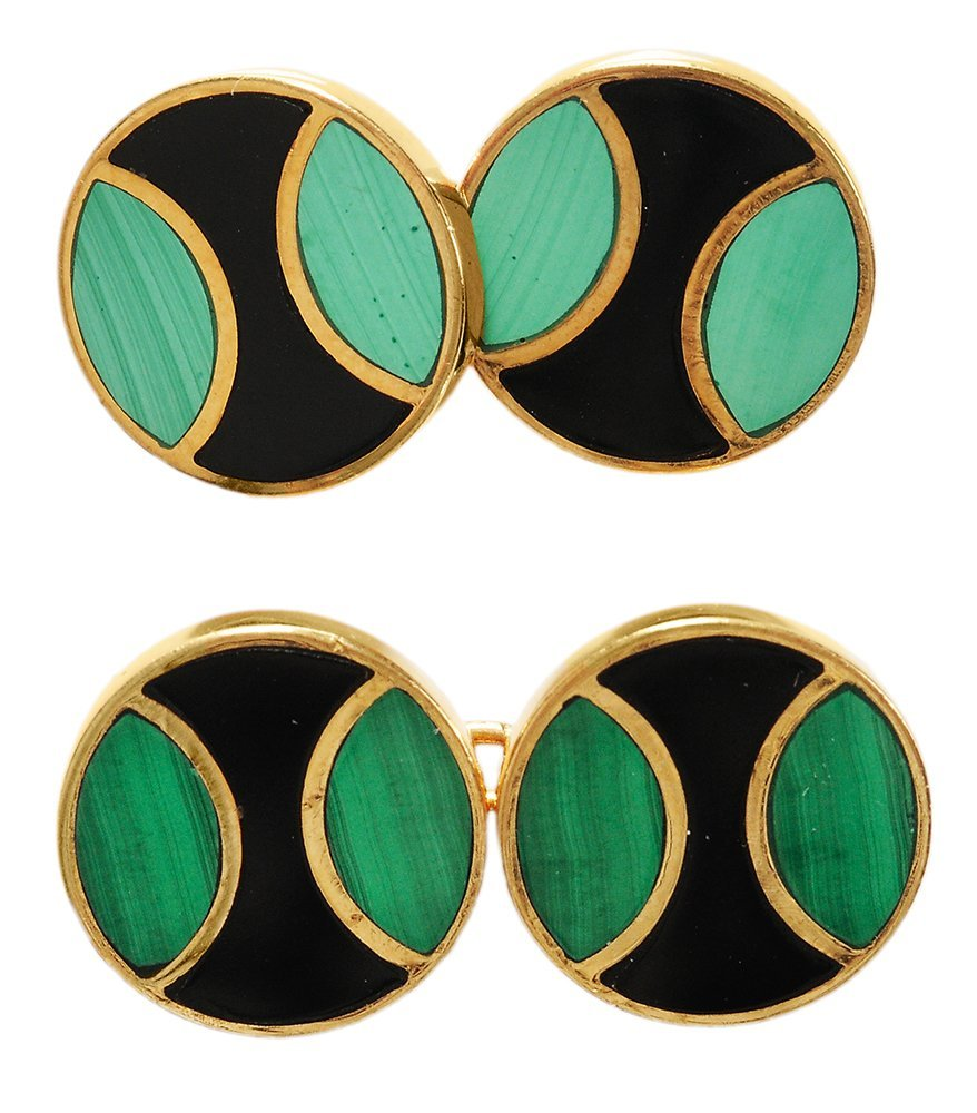 Cartier 18 Kt. Gold Cufflinks