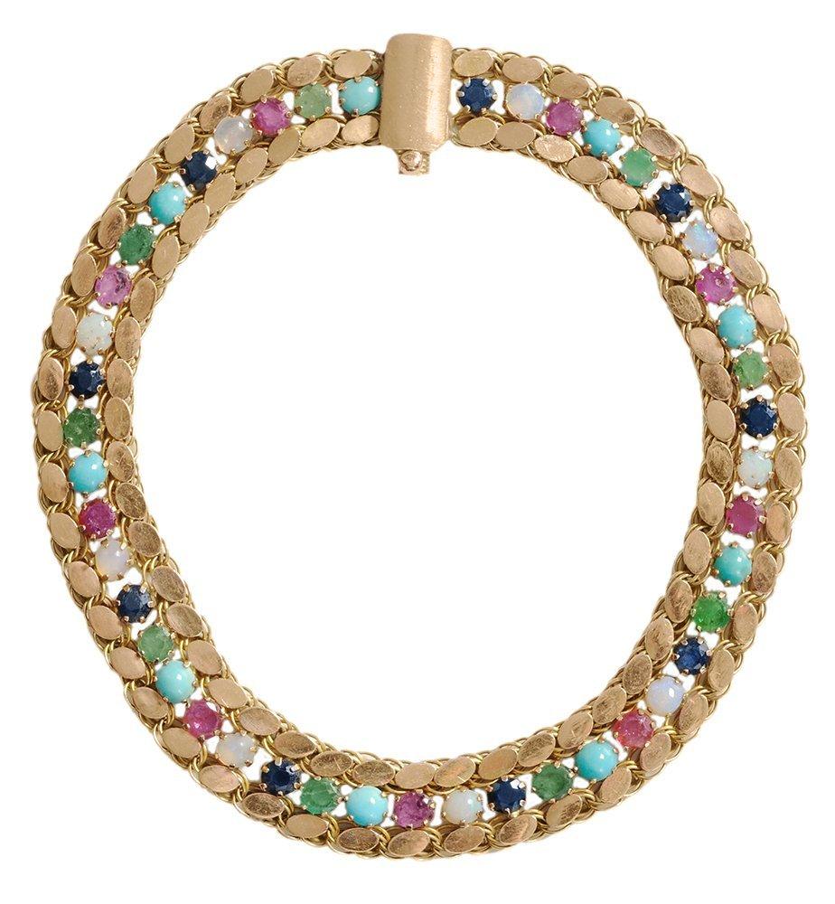 14 Kt. Gold Middle Eastern Bracelet