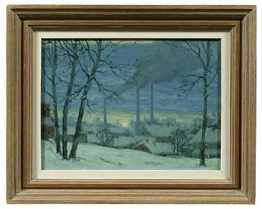 95: Painting by George J. Stengel