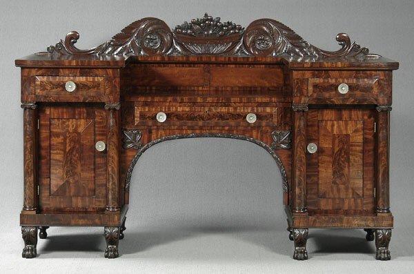 349: Ornate Empire sideboard,