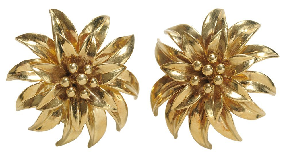 Tiffany 18 Kt. Gold Earrings