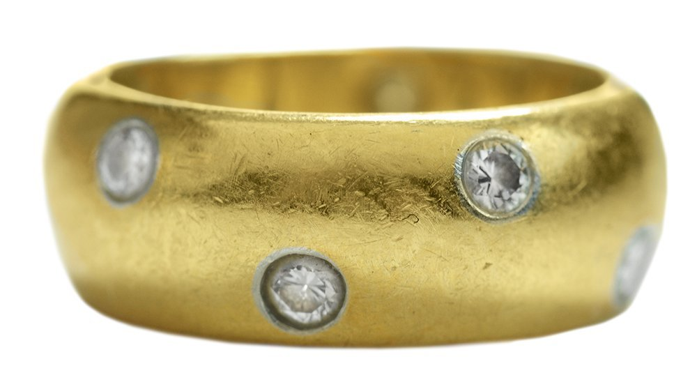 Tiffany 18 Kt. Gold Band Ring