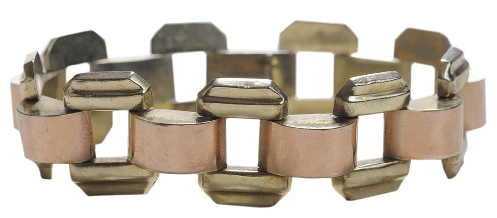 18 Kt. Rose and Yellow Gold Bracelet