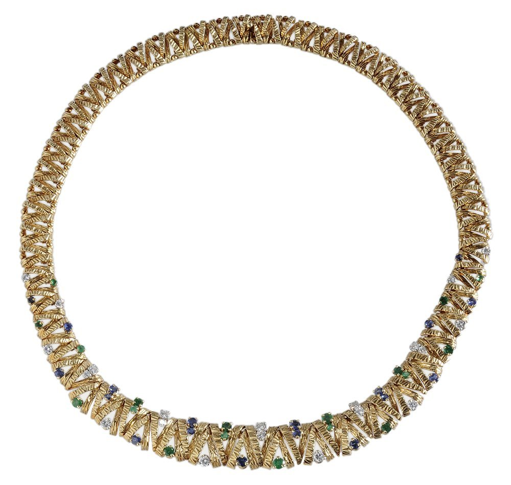 Cartier 18 Kt. Gold and Gemstone
