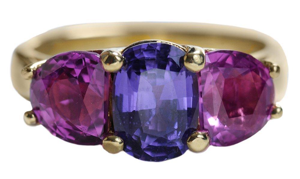 Colored Sapphire Fashion Ring