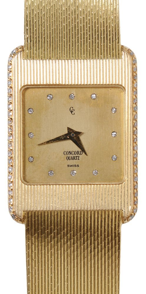 Lady's 18 Kt. Gold Concord Watch