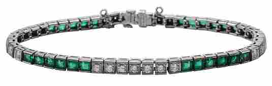 Tiffany 38 Co Emerald Diamond and