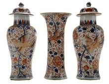 Chinese Export Porcelain Imari Mantle