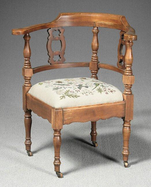 13: Corner chair,