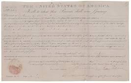 Andrew Jackson Land Grant 1831
