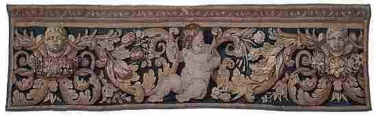 Brussels Tapestry Border Fragment