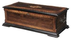Swiss Piccolo Inlaid Music Box