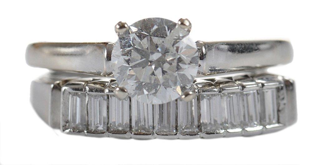Two Diamond Bridal Rings
