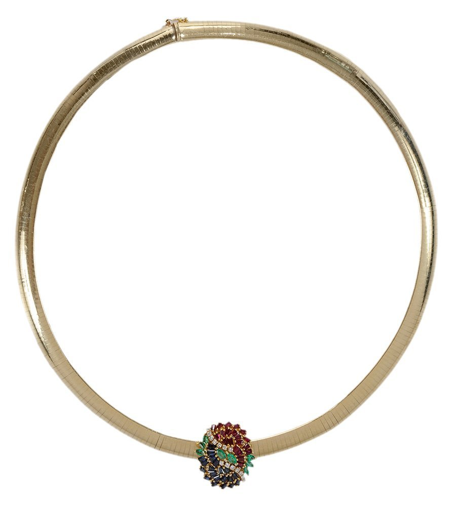14 Karat Yellow Gold Necklace and