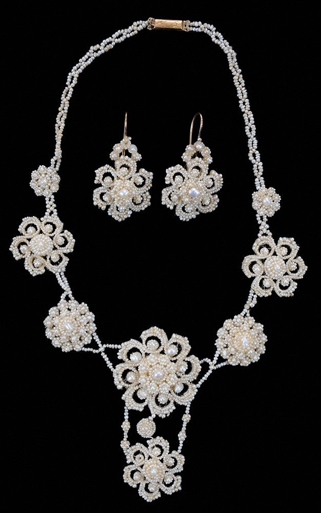 Victorian Seed Pearl Necklace and