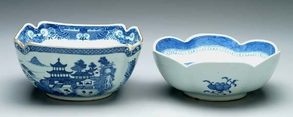 7: Two Canton bowls: