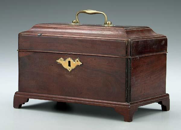 14: Late 18th century British tea box,