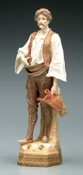9: Teplitz porcelain figurine,