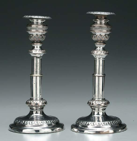 21: Pair telescoping candlesticks: