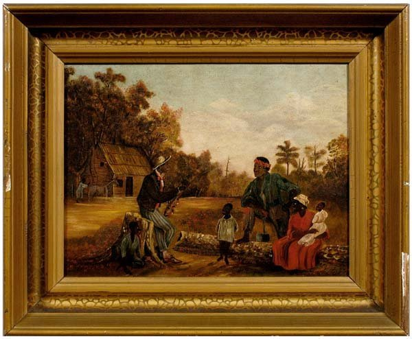78: African-American genre painting,