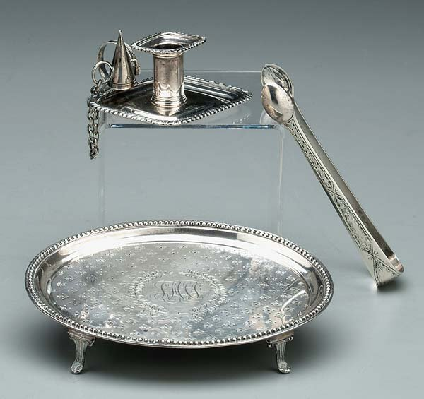 618: English, American silver: