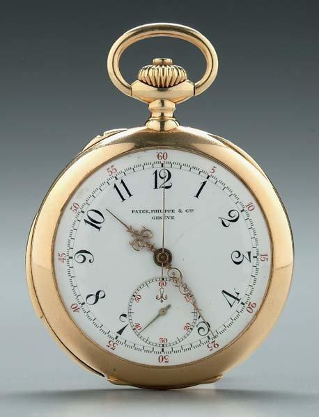 774: Patek Philippe repeater pocket watch,