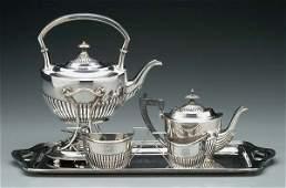1037: Gorham sterling silver tea service,