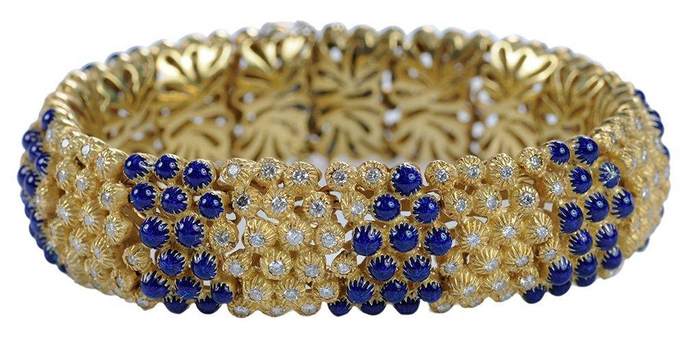 18 Karat Yellow Gold Diamond and