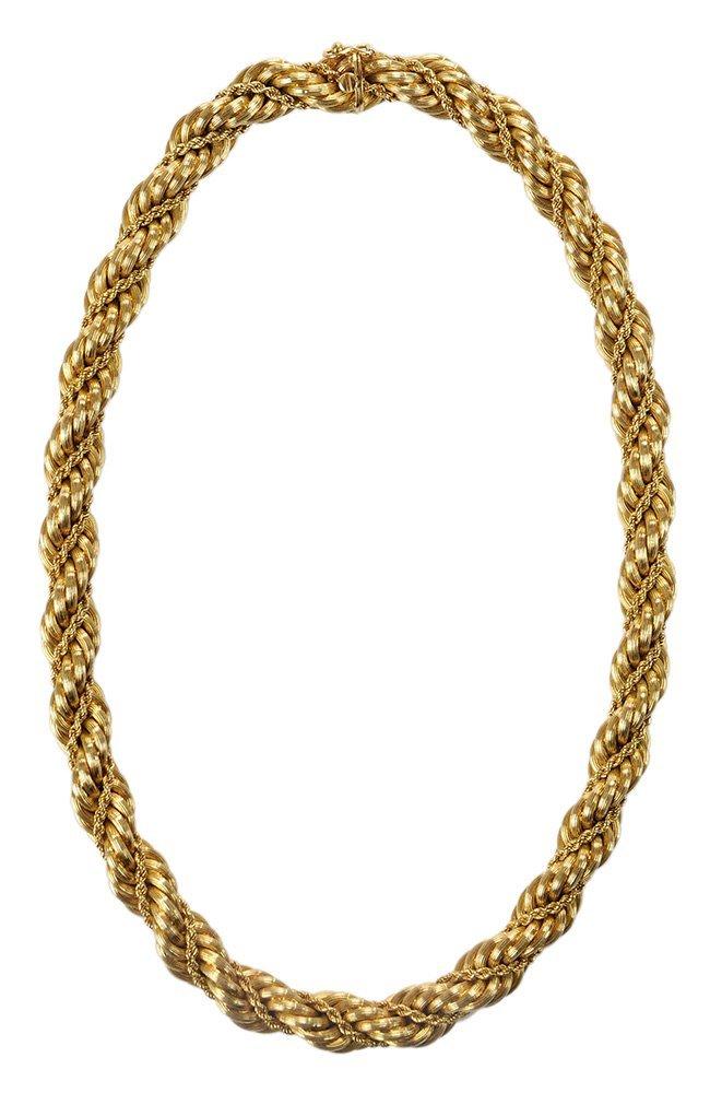 Tiffany & Co. 18 Karat Gold Necklace