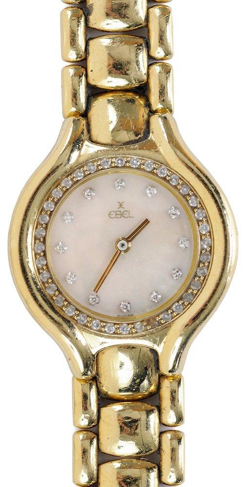 """Ladies 18 Karat Gold """"Ebel"""" Watch"""