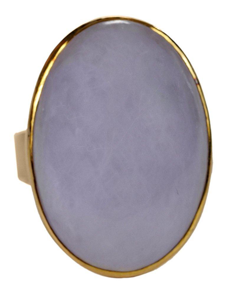 18 Karat Yellow Gold and Lavender
