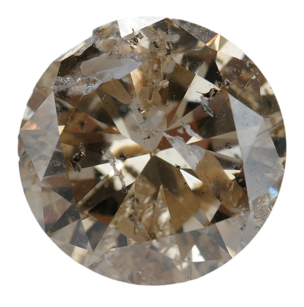 4.86 Carat Round Brilliant Diamond