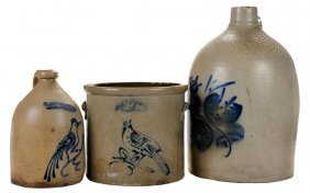 White's And Hart Brothers Stoneware