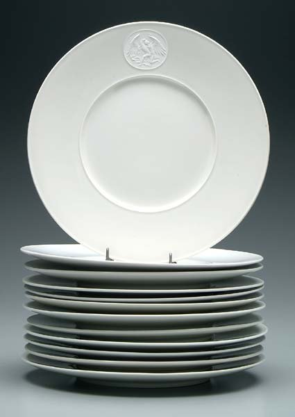 7: Set of 12 KPM plates: