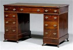 533 Regencystyle kneehole desk