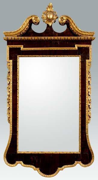 753: George II mirror,