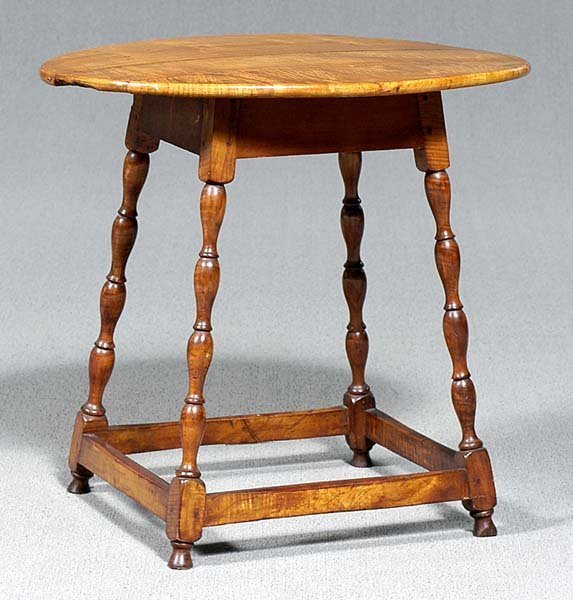 757: William and Mary style tavern table,