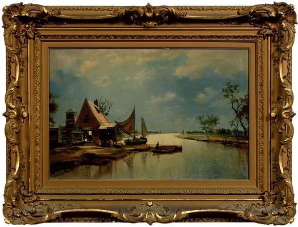 759: J. C. Frisch painting,