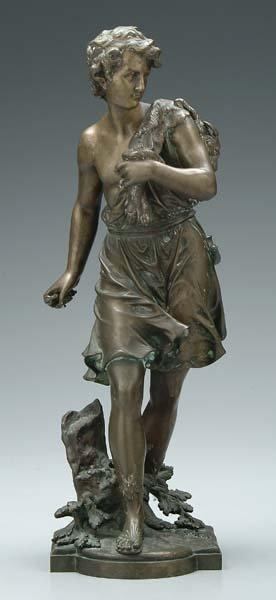 765: Bronze after Moreau,