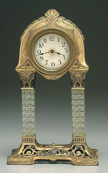 21: Art deco German clock,