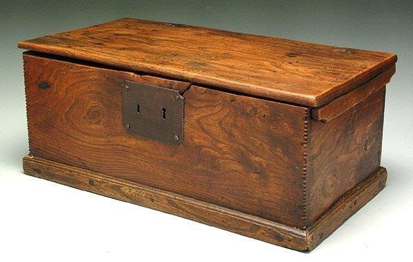 22: Miniature blanket chest,
