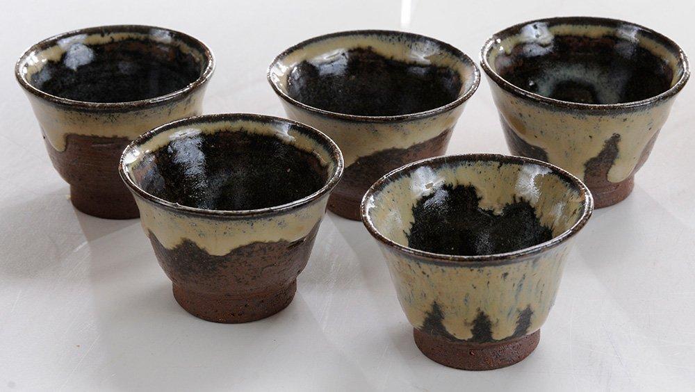 Four Teapots and a Small [Sencha] Tea - 3