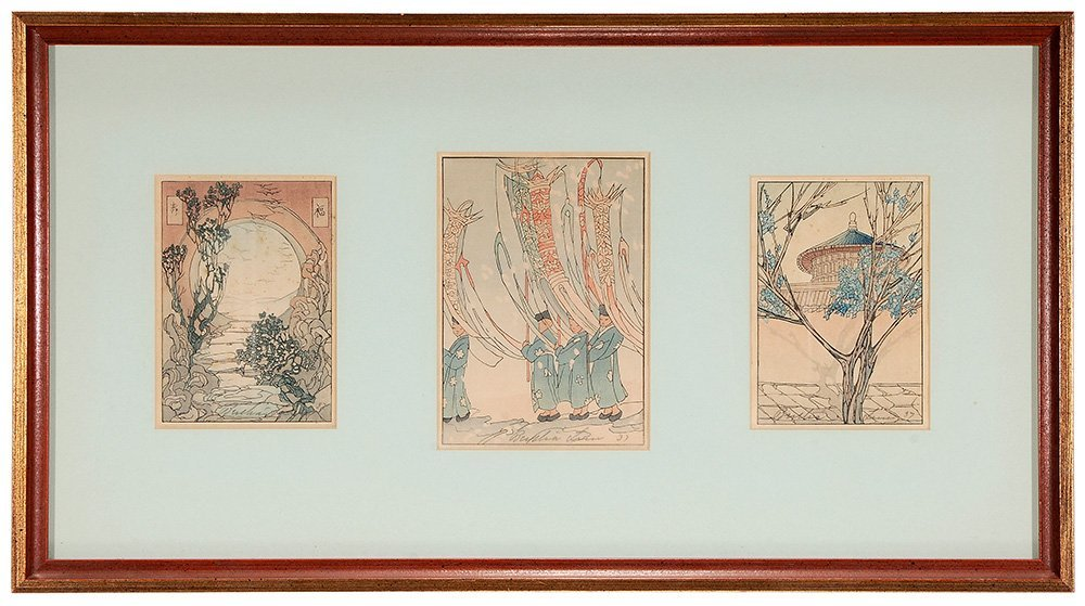Five Framed and Six Unframed Prints - 4