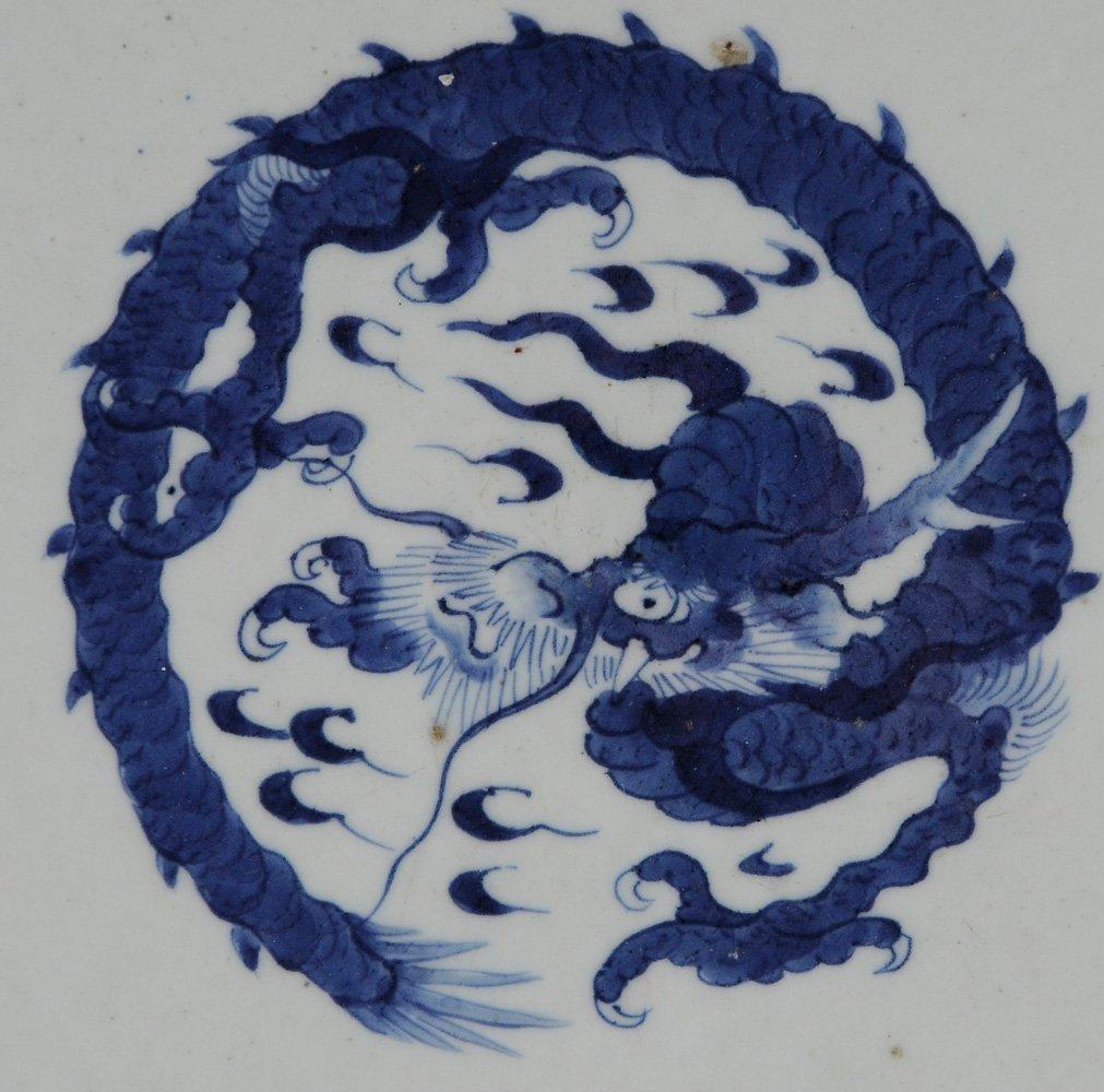 Large Arita Blue and White Porcelain - 3
