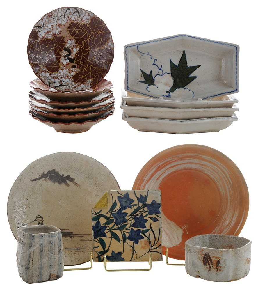 Plates and Assorted Dishes for Tea