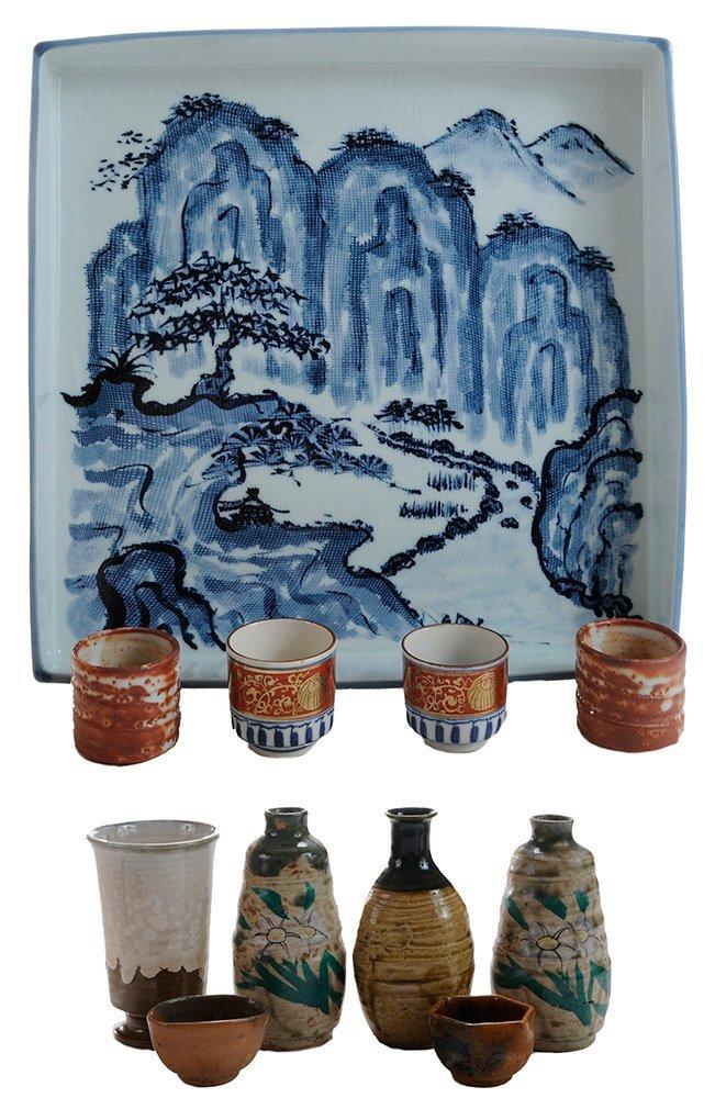 Group Boxed Sake and Food Ceramics